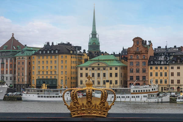 Sverige Photograph - Skeppsholmsbron - Stockholm by Joana Kruse