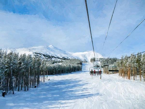Photograph - Ski Day by Sharon Seaward