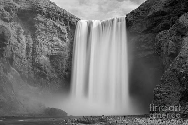 Printer Photograph - Skogafoss Iceland  by Michael Ver Sprill