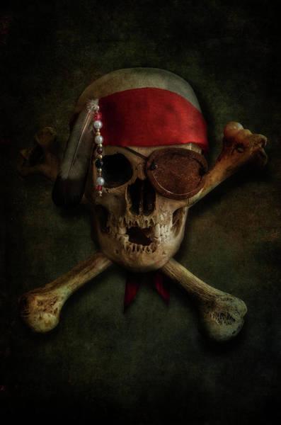Photograph - Skull And Bones by Jaroslaw Blaminsky