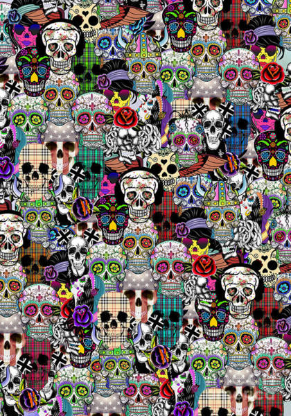 Wall Art - Painting -  Halloween by Mark Ashkenazi