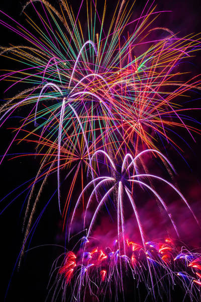 Dazzle Wall Art - Photograph - Sky Full Of Fireworks by Garry Gay