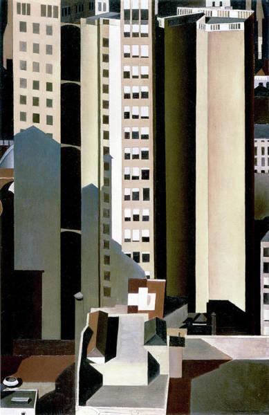 Photograph - Skyscraper by Charles Sheeler