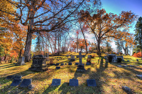 Wall Art - Photograph - Sleepy Hollow Cemetery New York by David Pyatt