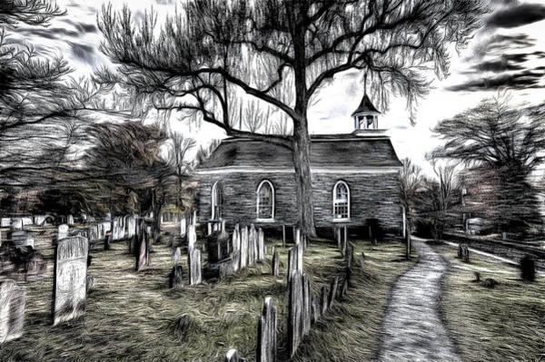 Wall Art - Photograph - Sleepy Hollow Church Art by David Pyatt