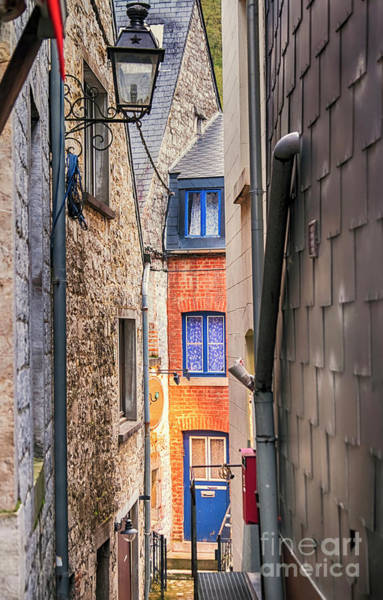 Photograph - small street in Belgium town Durbuy by Ariadna De Raadt