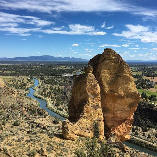 Photograph - Smith Rocks by Brian Eberly