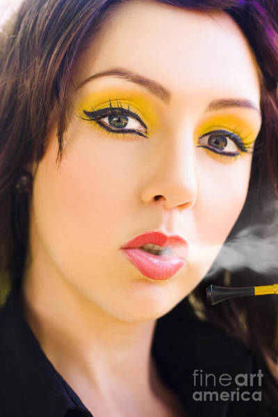 Wall Art - Photograph - Smoking by Jorgo Photography - Wall Art Gallery