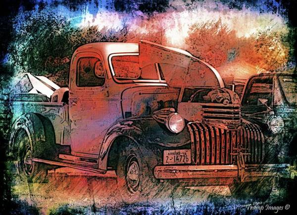 Digital Art - Smooth Ride by Wesley Nesbitt