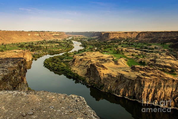 Photograph - Snake River Canyon In Idaho Journey Landscape Photography By Kaylyn Franks by Kaylyn Franks