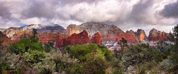 Photograph - Snow In Heaven Panorama by Leda Robertson