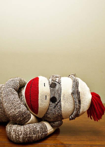 Sock Monkey Photograph - Sock-y by Amber Snead