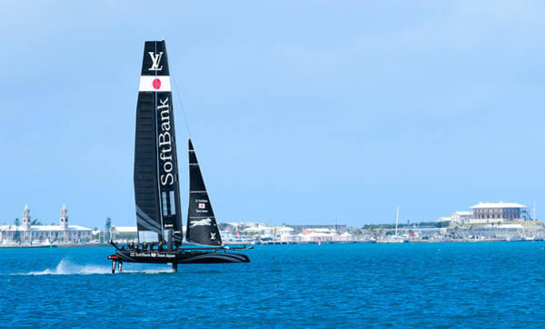 Ac45 Photograph - Softbank by Chris Beard
