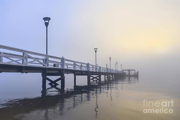 Pond Photograph - Softly As I Leave You by Evelina Kremsdorf