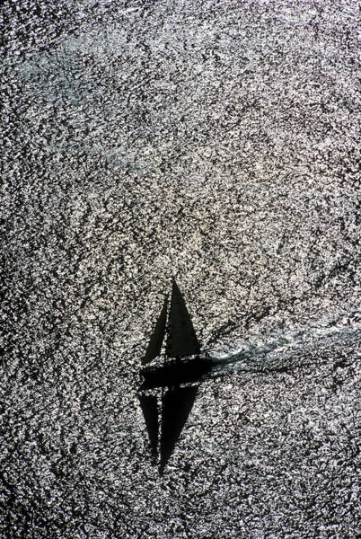 Photograph - Sailing Into Solitude by David Shuler