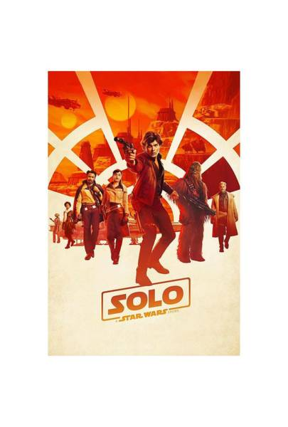 Wall Art - Digital Art - Solo A Star Wars Story - 2018 by Geek N Rock