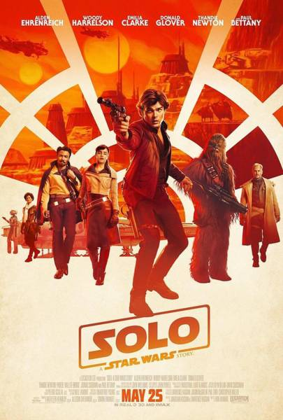 Wall Art - Digital Art - Solo A Star Wars Story by Geek N Rock