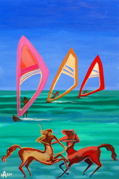 Painting - Sons Of The Sun by Enrico Garff