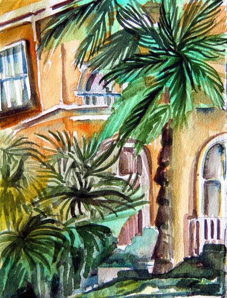 Wall Art - Painting - Sorrento by Mindy Newman