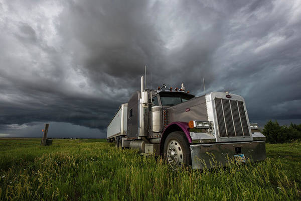 Wall Art - Photograph - Soul Of A Trucker  by Aaron J Groen