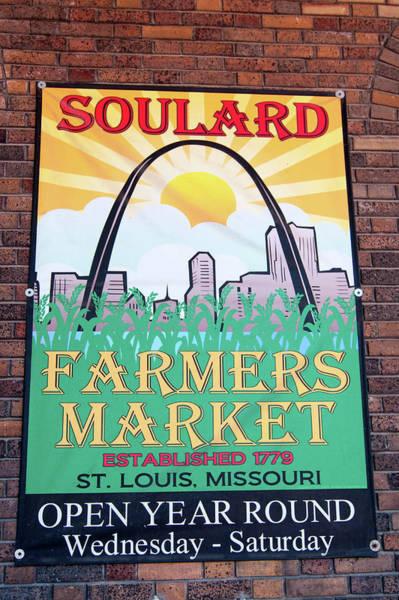 Photograph - Soulard Farmers Market by Steve Stuller