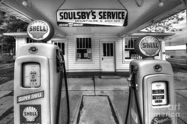 Wall Art - Photograph - Soulsby's Service Station by Twenty Two North Photography