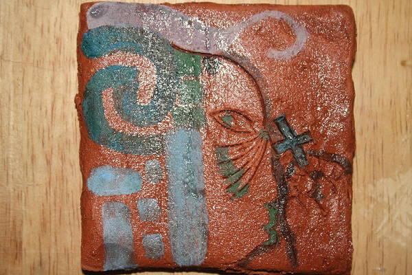 Ceramic Art - Sources - Tile by Gloria Ssali