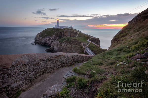 Photograph - South Stack Lighthouse by Mariusz Talarek