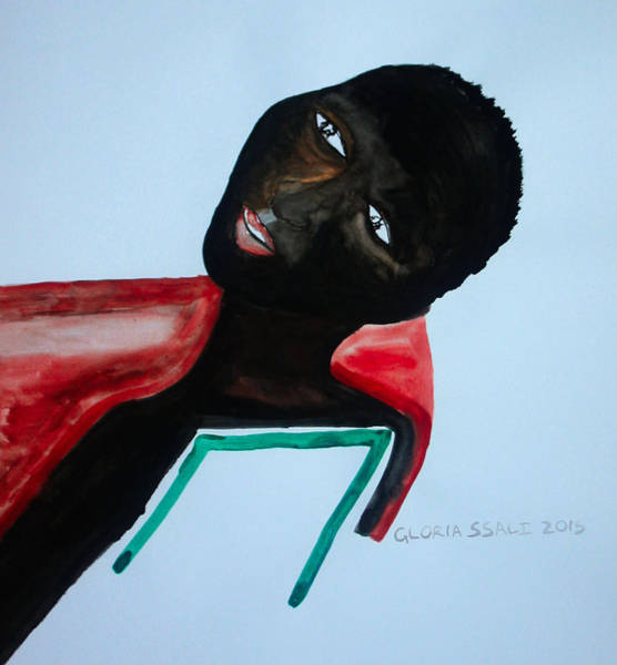 Painting - South Sudan Bride by Gloria Ssali
