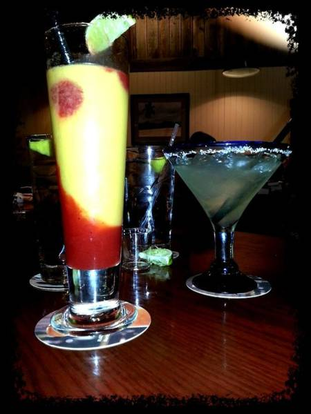 Bar Tender Photograph - Specialty Drinks by Denise Jenks