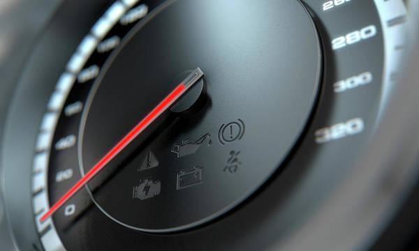 Dashboard Digital Art - Speedometer by Allan Swart