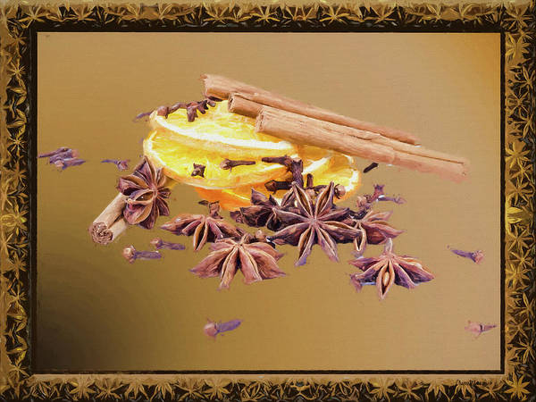 Photograph - Spices For Winter-painted by Ericamaxine Price