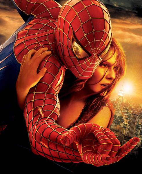 Tobey Digital Art - Spider-man 2 2004 by Geek N Rock