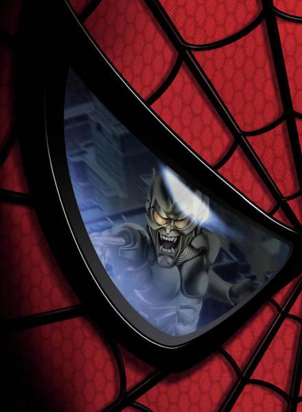 Wall Art - Digital Art - Spider-man 2002 by Geek N Rock