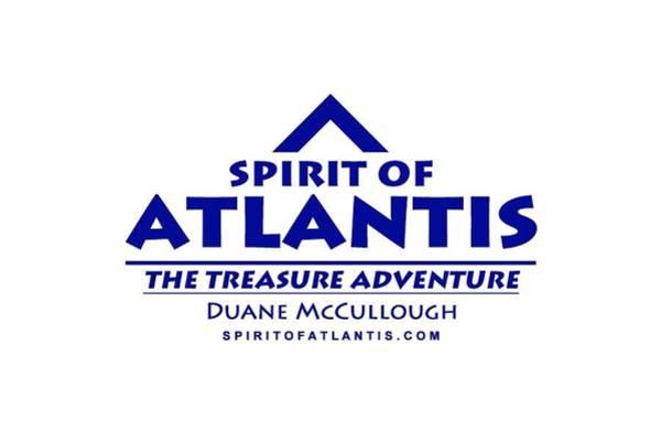 Mixed Media - Spirit Of Atlantis Logo by Duane McCullough