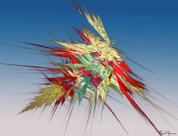 Digital Art - Splat by Rein Nomm