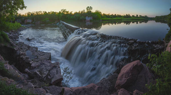 Photograph - Split Rock Sunset Panorama by Aaron J Groen