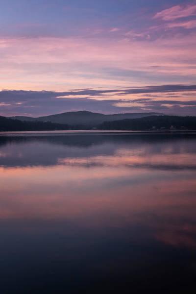 Photograph - Spofford Lake Sunrise by Tom Singleton