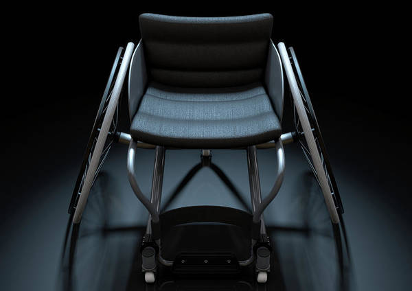 Wall Art - Digital Art - Sports Wheelchair by Allan Swart