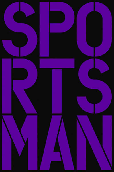 Wall Art - Painting - Sportsman by Three Dots