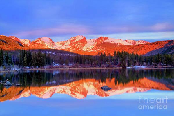 Wall Art - Photograph - Sprague Lake by Ronda Kimbrow