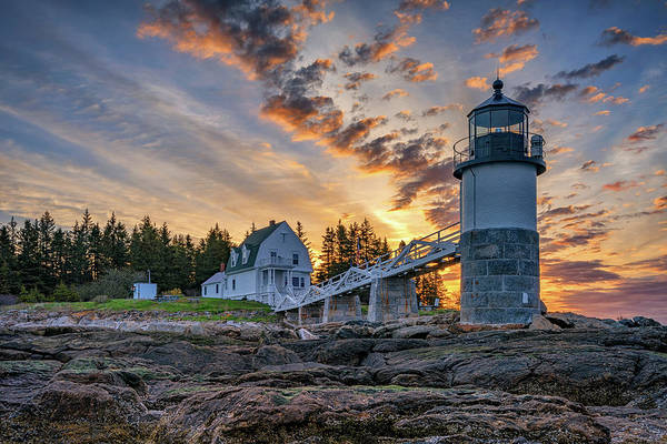 Photograph - Spring Morning At Marshall Point by Rick Berk