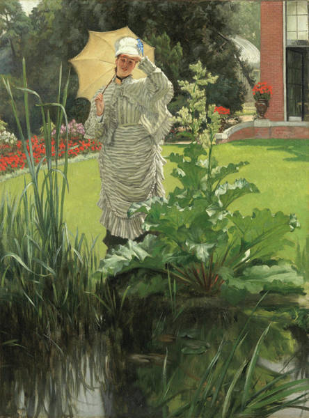 Painting - Spring Morning by James Tissot