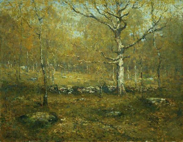 Ward Painting - Spring Woods by Henry Ward Ranger
