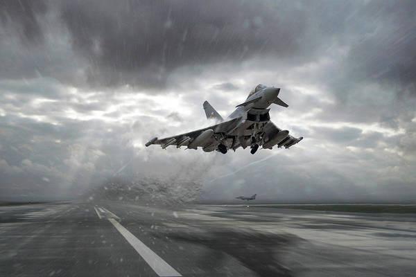 Wall Art - Digital Art - 1 Squadron Qra by J Biggadike