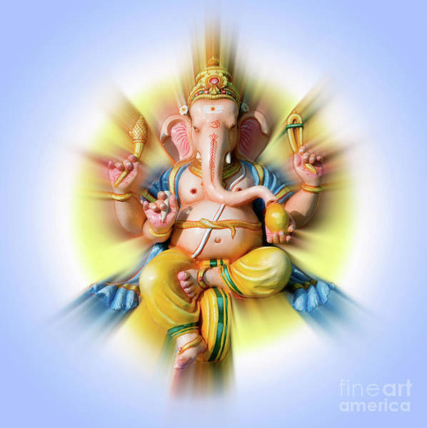 Wall Art - Photograph - Sri Ganesha by Tim Gainey