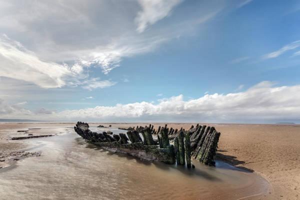 Ship Wreck Photograph - Ss Nornen - England by Joana Kruse