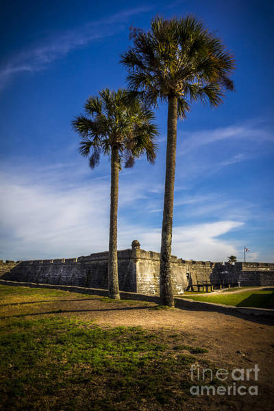 Castillo Wall Art - Photograph - St. Augustine Fort by Marvin Spates