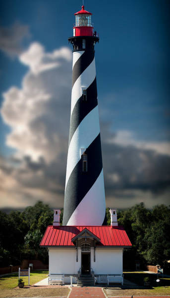 Wall Art - Photograph - St Augustine Lighthouse by Greg Waters