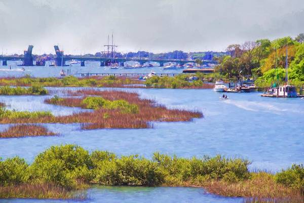 Photograph - St Augustine Waterscaped by Alice Gipson